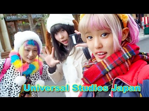 Universal Studios Japan & Osaka Vintage Shopping