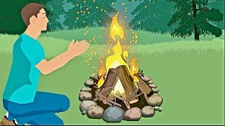 How To Build A Campfire - Without A Lighter