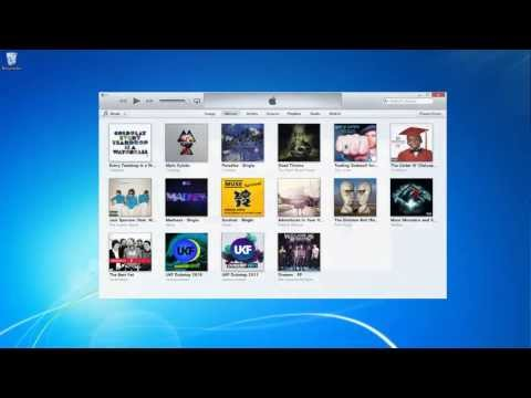 Transfer your iTunes library to an external hard drive