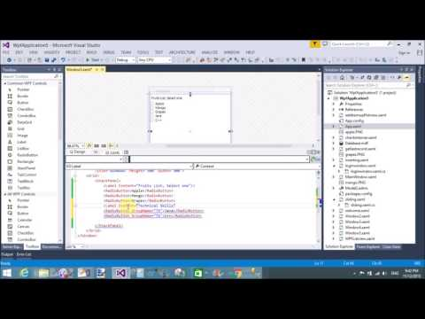 Use of Radio Button control in WPF