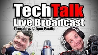 Tech Talk #150 - Join for the Tech, stay for the... um. ??
