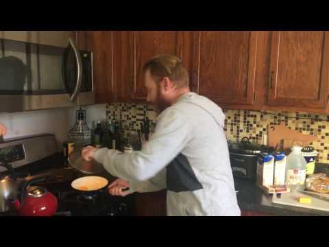 Egg Flipper flips an egg