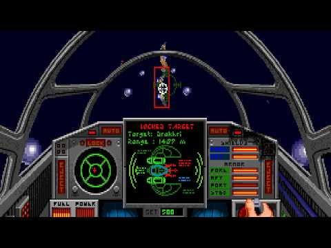 DOS Game: Wing Commander 2 - Vengeance of the Kilrathi
