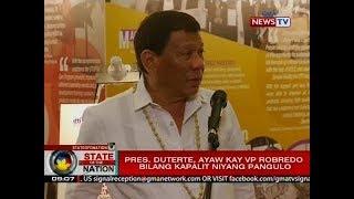 SONA: Pangulong Duterte, gustong paiksiin ang kanyang termino para sa pederalismo