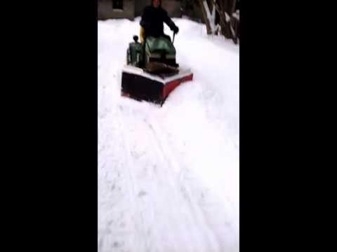 Homemade v-plow