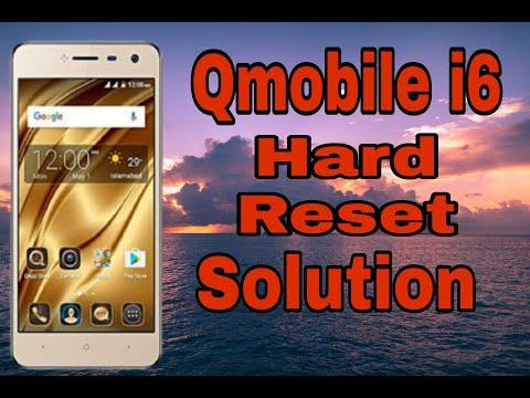 qmobile i6 metal volume key not working hard reset solution