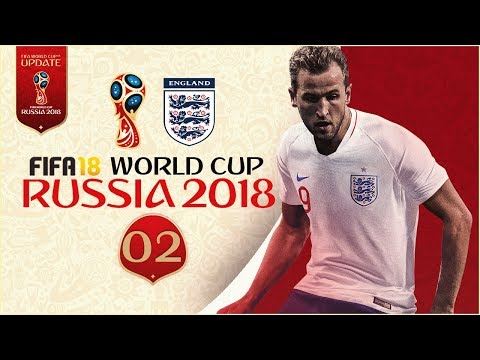 FIFA 18 World Cup - ENGLAND AT RUSSIA 2018 - KNOCKOUTS!!
