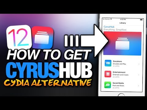 How To Get CYRUS HUB On iOS 12 - CYDIA ALTERNATIVE - THEMES - TWEAKED APPS - ++APPS For iPhone