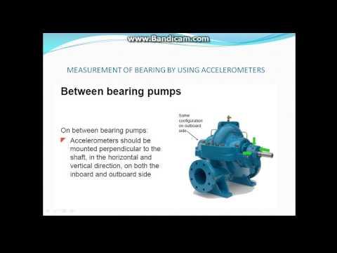 vibration control in pump