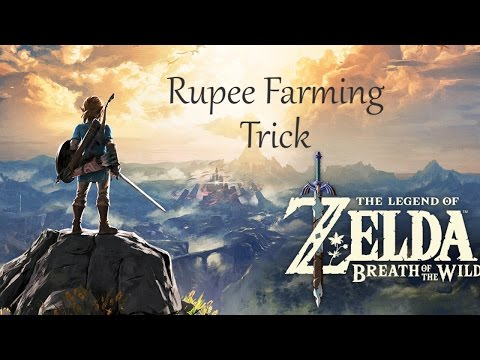 How to get 12,000 Rupees an hour in Breath of the Wild!!