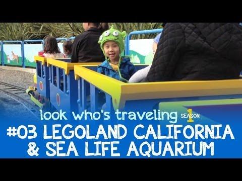 First time visiting Legoland California & Sea Life Aquarium in Carlsbad, San Diego