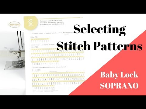 Sewing with Baby Lock SOPRANO  - Episode #4