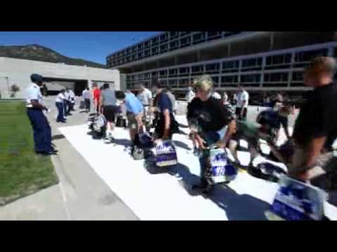 Air Force Academy Class of 2015 Reports for Duty