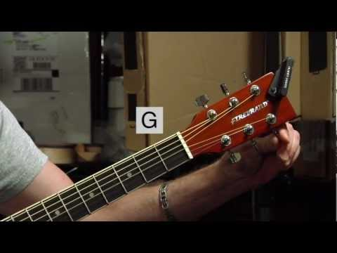Tuning a Steel-string Acoustic Guitar - Tommy Norton