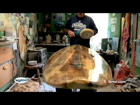 How to Gloss a Surfboard Using Solarez UV Cure Resin