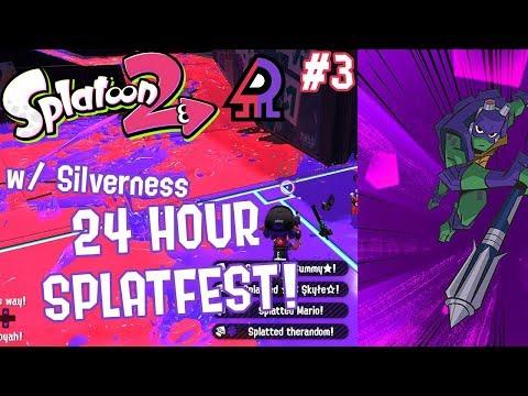 Splatoon 2 Splatfest #12 (Raph VS Donnie) Part 3 [CO-OP 24 HOUR SPLATFEST!!!]