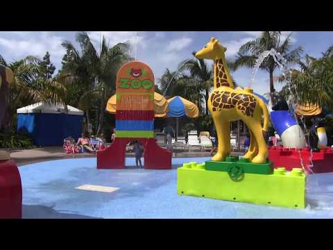 Legoland California and Disneyland with 4 and 6 year old (April 2017)