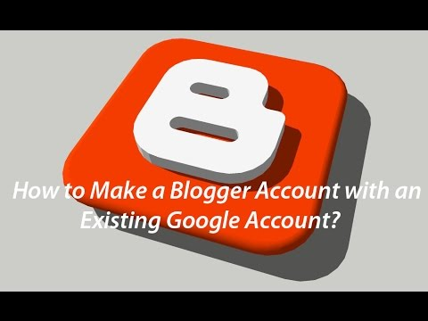 How to Make a Blogger Profile with an existing Google account?|| Simple, Quick and Easy||