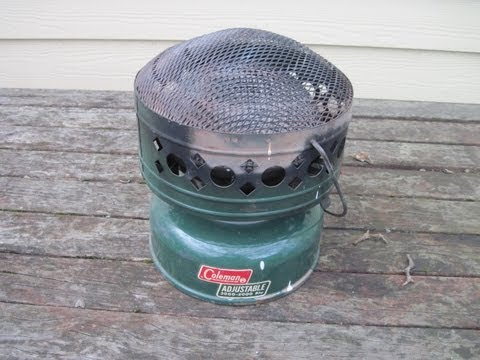 How to Light a Coleman Catalytic Heater