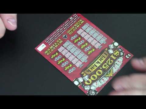 I Scratch off a Lottery Ticket: $125,000 Black Jack Part 1