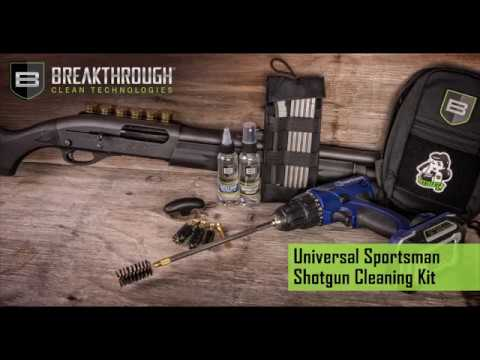 Breakthrough Clean's Universal Shotgun Cleaning Kit
