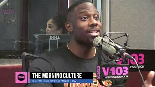 """Derrick Jaxn Asks  K Michelle Why She Thinks Men Are """"Not Good People"""""""