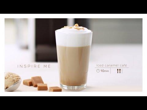 Nespresso Recipe   Iced Caramel Coffee