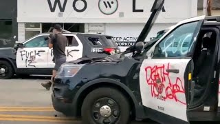 В США продолжаются хаос и беспорядки на фоне катастрофической нехватки полиции.
