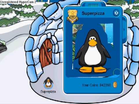 Erasing clothes on club penguin