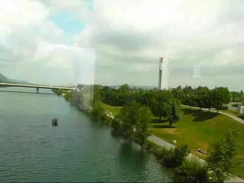 Views of Vienna: Starting my Train Ride from Vienna to Prague