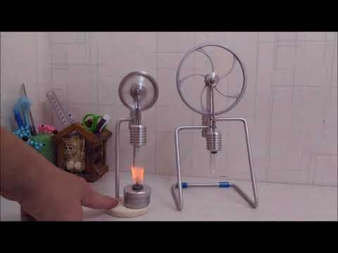 miniature model stirling engines that run  || Smallest Stirlingotor  Make Science Fun