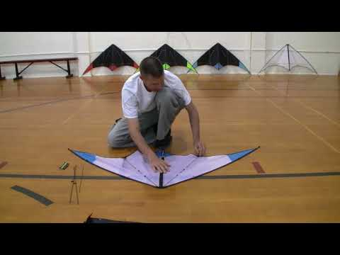 Indoor Dual 03 - Disassembly (stunt kite tutorial)