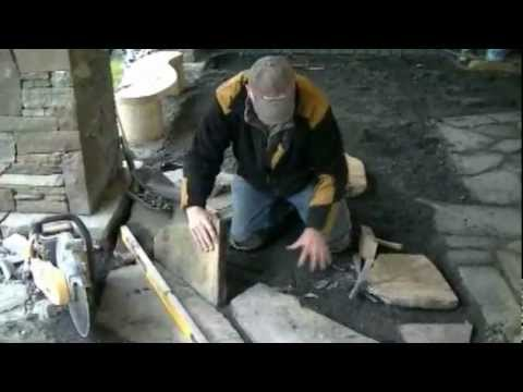Mike Stone's tips for laying a flagstone patio.