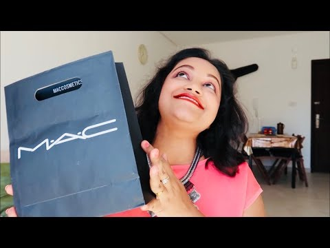 MAC Cosmetics HAUL || 2018 || Indian Youtuber