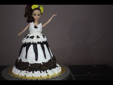 Oreo Chocolate and Vanilla Doll Cake Without Oven | Recipe By Desi Zaiqa