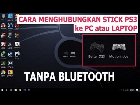 Cara Menghubungkan Stik PS3 ke PC / Laptop Tanpa Bluetooth
