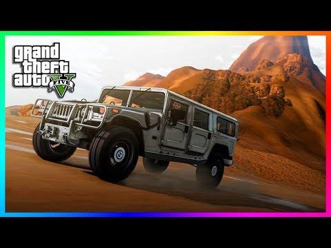 GTA 5 IN THE DESERT! (GRAND THEFT AUTO 5)