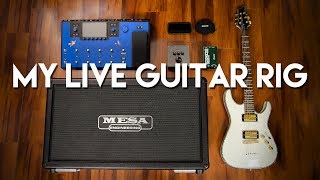 My Live Guitar Rig - 2019 | IN-EAR MONITORING AND BACKING TRACKS WITHOUT A LAPTOP