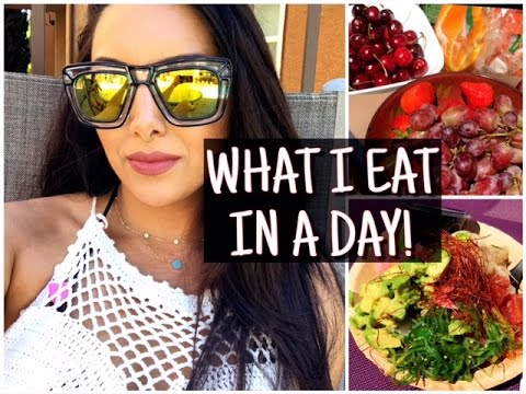 WHAT I EAT IN A DAY! HEALTHY MEALS