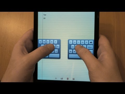 iPad Mini Keyboard Tips - Undock, Split and Number Shortcuts