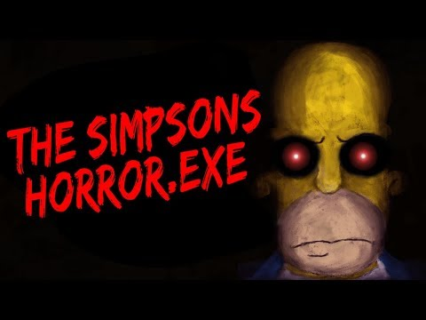THE SIMPSONS ARCADE.EXE - HOMER KILLS EVERYONE! [The Simpsons Horror Game]