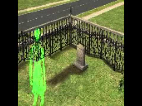Ghost in the daytime?! Sims2