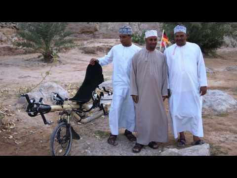 Azub Twin, Oman by bike