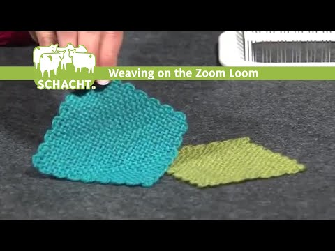 Weaving on the Schacht Zoom Loom