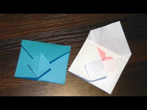 Beautiful origami paper envelope ♡ for beginners