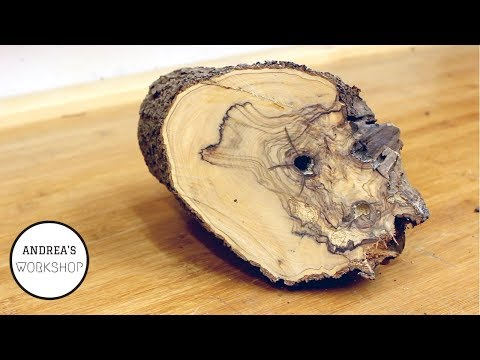Olive Wood - from Firewood to Useable Lumber