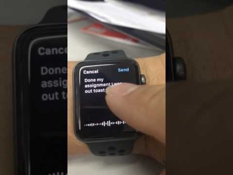 How to change dictation language on Apple Watch !
