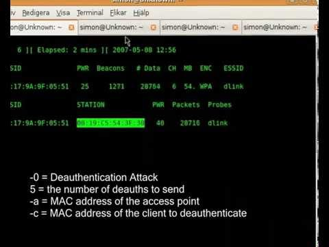 Ubuntu | Linux WPA attack with Aircrack-ng