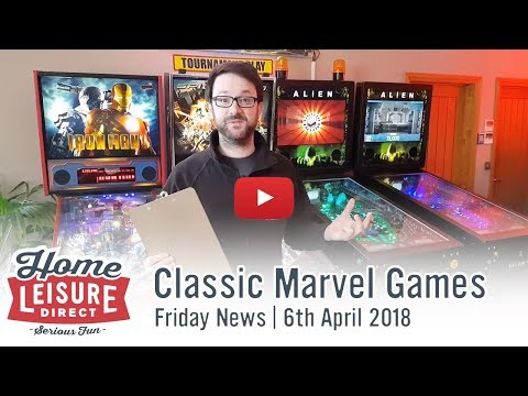 Classic Marvel Games | Friday News 6th April 2018