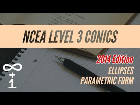 Ellipses 2.3 Parametric Form